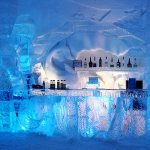 Hotel de Glace in Canada-Ice bar