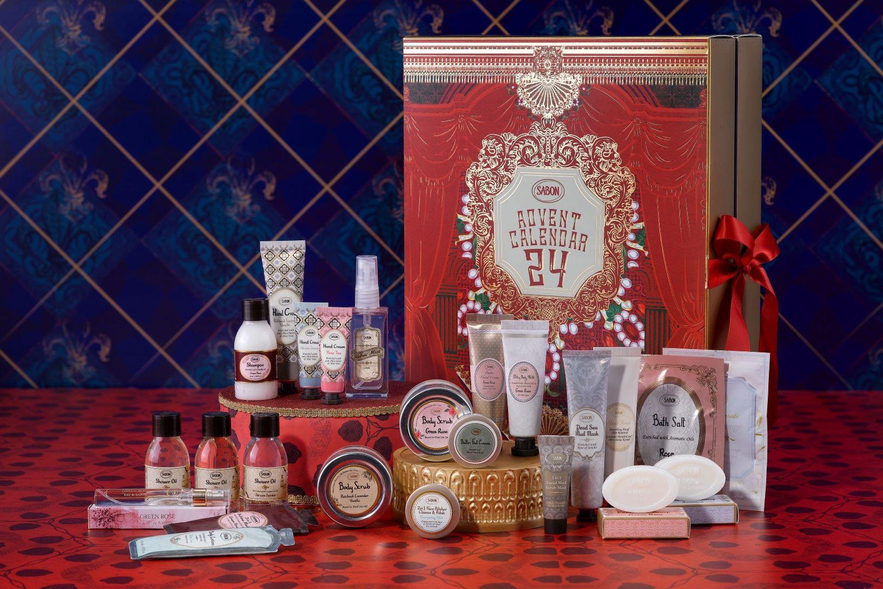 calendar advent sabon