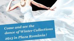 Dansul colecțiilor de iarnă 2015, un show electrizant la Plaza România